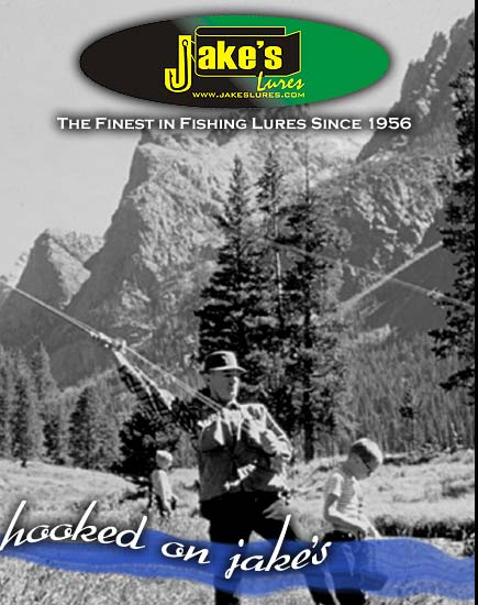 Wyoming's best kept fishing secret for over 40 years is now available to you online! The Jake's lure, the #1 lure in Yellowstone National Park will eternally become your favorite fishing partner. Even better, whether you fish in fresh water, streams, lakes or rivers, Jake's has you covered by offering four body styles in four different colors. Like thousands of fishermen throughout the United States, You too will become hooked on Jake's!